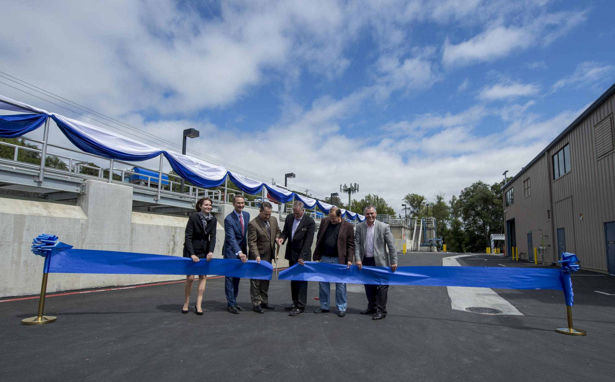 Montevina Water Treatment Plant Ribbon Cutting