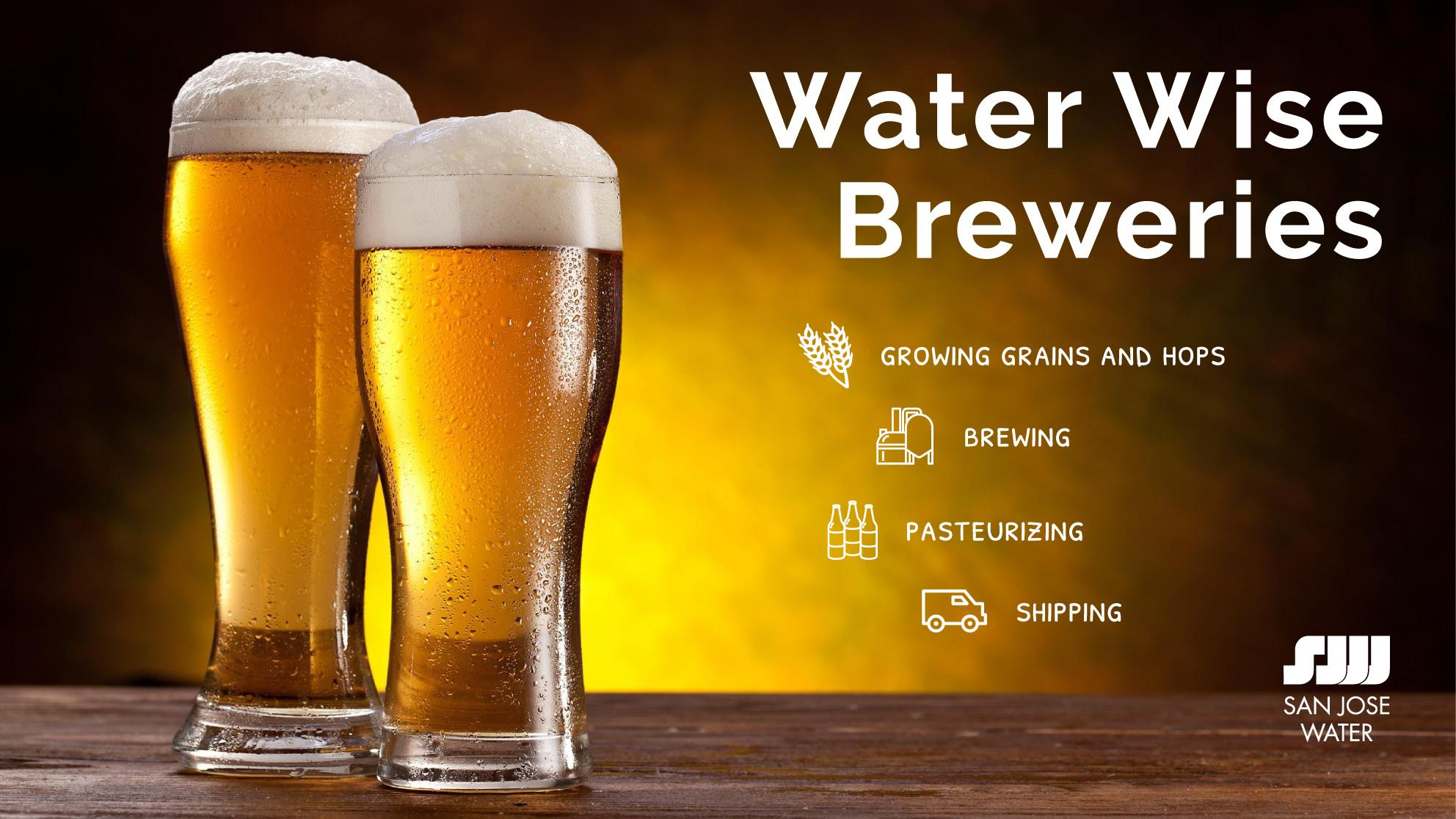 Water Wise Breweries in CA