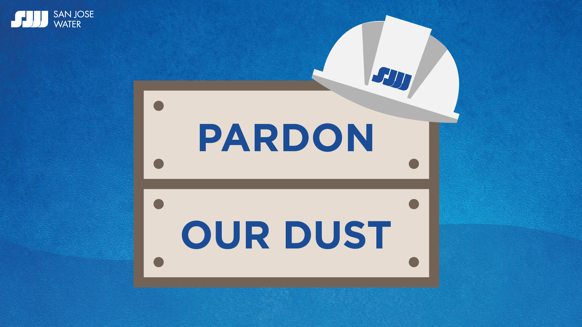 Pardon Our Dust graphic