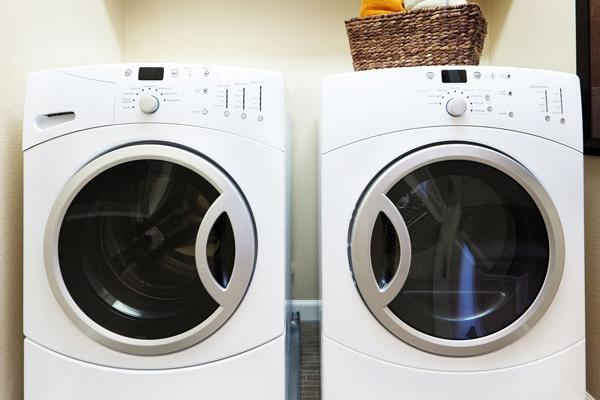 Two washing machines - decrease water bill